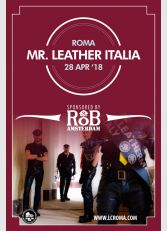 Mister Leather Italy 2018