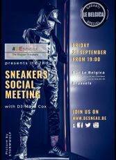 Brussels Sneakers Social Meeting