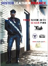 Election Mister Leather France 2018